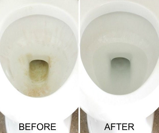 How To Clean A Toilet With White Vinegar