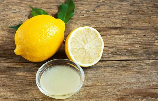 Lemon Juice For Nails