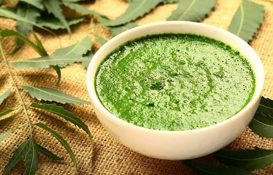 Cucumber and neem pack