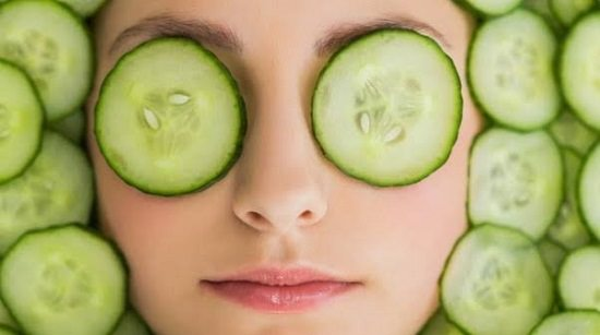 DIY Cucumber Face Mask1